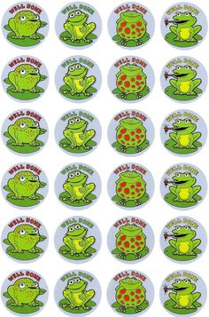 Frogs Merit Stickers.  96 brightly coloured frogs stickers to reward or decorate.  - See more at: http://www.teachersuperstore.com.au/product/pets-animals/frogs-merit-stickers/#sthash.cPfS0q1U.dpuf