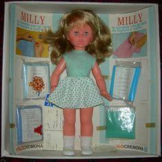 Milly (Italocremona) doll