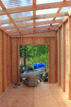 Shed Plans - shed with clear roof - Now You Can Build ANY Shed In A Weekend Even If You've Zero Woodworking Experience!