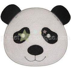 Cute Panda applique