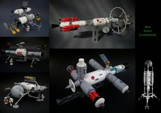 Toutes les tailles | Realistic Starfighters medley | Flickr: partage de photos! Hard Science Fiction, Classic Sci Fi, Game Dev, Lego Moc, Lego Creations, Sci Fi Fantasy, Spacecraft, Lego Star, Solar Panels