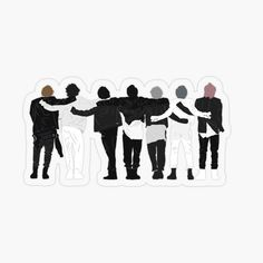 Pop Stickers, Tumblr Stickers, Printable Stickers, Korean Stickers, Kpop Drawings, Bts Aesthetic Pictures, Journal Stickers, Bts Chibi, Aesthetic Stickers