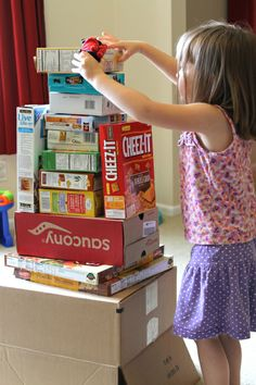 10 Ways to Learn with Cardboard Boxes