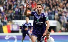 Télécharger fonds d'écran Leander Dendoncker, 4k, soccer, Anderlecht, le football, le Belgian Pro League