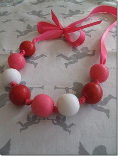 Gumball necklace = best Valentine ever.