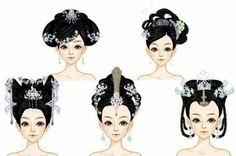 Disney Cartoon Characters, Drawing Cartoon Characters, Character Drawing, Character Design, Manga Hair, Anime Hair, Lin Chi Ling, Hair Sketch, China Dolls