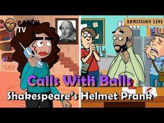 Videos capsules: Shakespeare Helmet Prank Call - Calls With Balls -...