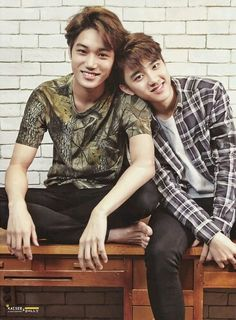 Kai and D.O from EXO ♥♥