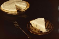 Rum Raisin Sour Cream Pie