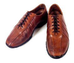 Allen Edmonds Shoes Brown Leather Athletic Oxfords Traveler Mens 9 D #AllenEdmonds #Oxfords