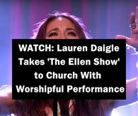 WATCH: Lauren Daigle Takes 'The Ellen Show' to Church With Worshipful Performance Night Pictures, Morning Pictures, Love Pictures, Easter Pictures, Heart Pictures, Happy Pictures, Gif Pictures, Birthday Pictures, Birthday Ideas