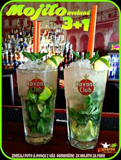 #kingston #cocktail #bar  #mojito #ice #zilina #nightlife #mint #lime