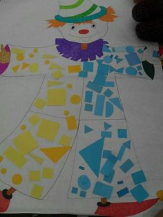 Šš Clown Crafts, Circus Crafts, Carnival Crafts, Carnival Decorations, Summer Crafts, Diy And Crafts, Crafts For Kids, Theme Carnaval, Clown Party
