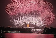 Sydney New Year Fireworks II