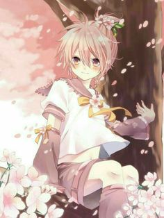 Vocaloid - Len Kagamine (鏡音 レン) - looks like he could be a sakura Len haha Len Y Rin, Vocaloid Len, Kagamine Rin And Len, Manga Anime, Anime Art, Vocaloid Characters, Mikuo, Sakura Cherry Blossom, Cute Anime Boy