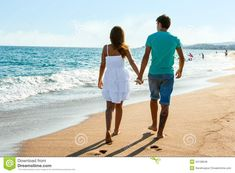 Photo about Rear view of Teen couple walking along beach in afternoon sun. Image of charming, happiness, adult - 34138649 Couples Walking, Teen Couples, Walking Away, Cover Up, Rear View, Beach, Oil, The Beach, Beaches