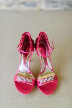 Pink shoes!!!!! Always wanted to wear these on my wedding day :-)