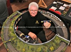 N Scale Model Trains, Model Train Layouts, Scale Models, Lionel Trains Layout, Kato Unitrack, Ship In Bottle, Mobile Models, Model Railway Track Plans, Hobby Trains