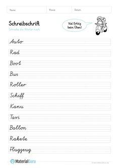 Ein kostenloses Arbeitsblatt zum Thema Adjektive, auf dem die ...