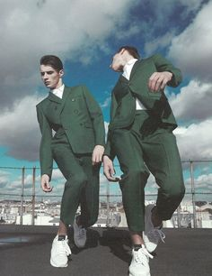 coloured suits
