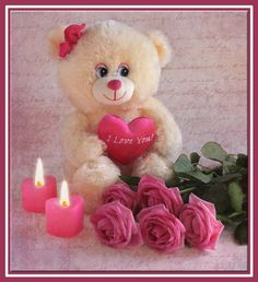 de - Best of Wallpapers for Andriod and ios Teddy Bear Day, Teddy Bear Cartoon, Cute Teddy Bears, Hug Pictures, Teddy Bear Pictures, Love You Gif, Love You Images, Hugs And Kisses Quotes, Beautiful Morning Messages