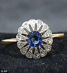 Ring found from the wreckage of the Titanic