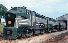 New York Central Baldwin Diesel Locomotive.