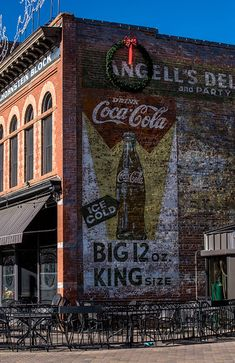 Ghost Sign at Cooper Smith's restaurant Fort Collins Colorado