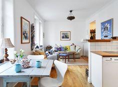 pisos pequeños de estilo nórdico dormitorio con almacenaje y rincón de trabajo diseño de interiores diáfano decoración nórdica escandinava d...