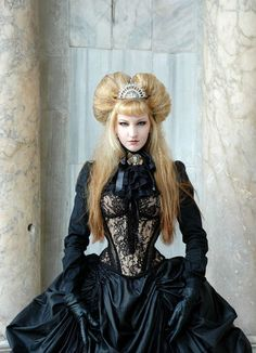 Looks like the evil stepmother