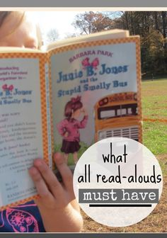 Want to raise a reader? Read a-louds are great teaching tools! But read-a-louds must have these components to make them successful for elementary age kids! Find out what to look for when choosing a read-aloud for your class or homeschool! #readaloud #reading #teachingresources #literacy #elementary #teachingtips #readinghelps #education #earlyliteracy #teachingkids #books #teachmama