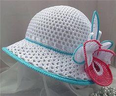 Esquemas de sombreros tejidos a crochet (2)