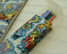 #Sponsored - Trick out your pencil case and notebook with @Duck Brand