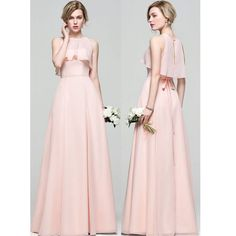 JJsHouse A-Line/Princess Sweetheart Floor-Length Chiffon Bri.- JJsHouse A-Line/Princess Sweetheart Floor-Length Chiffon Bridesmaid Dress With Bow(s) Sweet bridesmaid dress. Elegant Dresses, Pretty Dresses, Beautiful Dresses, Evening Dresses, Prom Dresses, Formal Dresses, Wedding Dresses, Chiffon Bridesmaid Dresses, Pink Bridesmaids