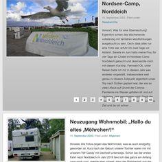 Tja Corona bedingt sind unsere geplanten Reisen ins Wasser gefallen. Zwei Updates nach einer längeren Abstinenz gibt es im Blog aber jetzt doch. Zum einen haben wir die neuen Chalets im @nc_norddeich getestet zum anderen stellen wir euch Möhrchen vor... unser neues altes #wohnmobil ! Mehr Infos auch www.sehnsuchtwelt.com. #sehnsuchtwelt #reisebericht #blogeintrag #camping Desktop Screenshot, Camping, Blog, Chalets, Corona, Longing For You, North Sea, Travel Report, Rv