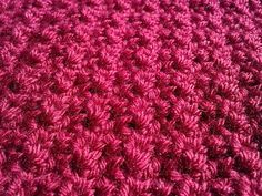 No Holes Baby Blanket this blanket is an incredibly simple pattern that produces a very lovely, textured finish that looks like you've done something far more intricate: FREE crochet blanket