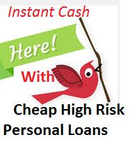 If you have fiscal crisis, you can apply for cheap high risk personal loans on to get instant cash. It is very helpful for people when they need immediate finance. Just submit online application form and fulfill any personal requirement. It is gives complete freedom to use cash for many purposes. These processes are the best way to solve your immediate fiscal emergency.