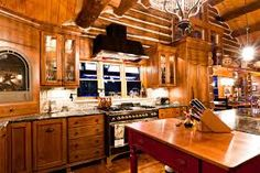 Image result for log homes interiors