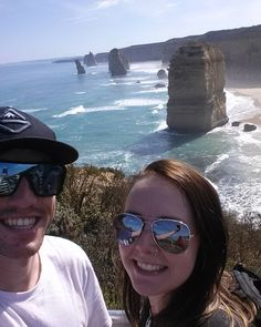 A little snap of the 12 apostles and our great ocean road adventure  #roadtrip #12apostles #greatoceanroad #selfies #tourists #bestfriend #goodtimes by stephlouise1995