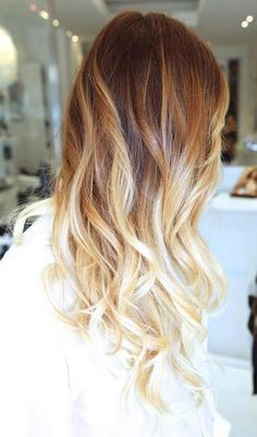 Blonde ombre'