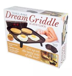 Dream Griddle Prank Product Gift Box Joke Gag Box WAKE & BAKE ALARM Fathers Day  | eBay