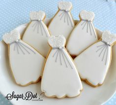 Wedding Custom Sugar Cookies, Frederick, MD Maryland favors beach, flowers, shabby chic, country, elegant - Sugar Dot Cookies . . . Handmade Decorated Sugar Cookies for every occasion