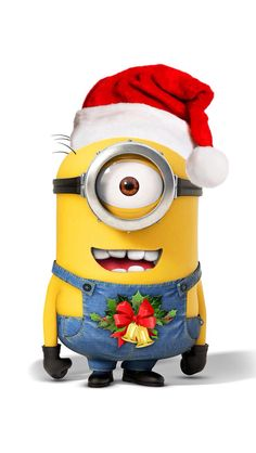 Minions do Christmas. Despicable Me.