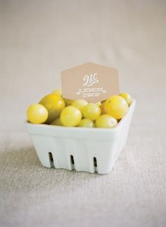 2013 Pantone Color | Lemon Zest - Heirloom tomatoes   #weddings #lemonzest #tasting