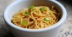 Simple Sesame Noodles | Inspired Dreamer