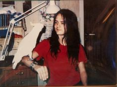 A very, very young Euronymous of Mayhem. With friend! <3