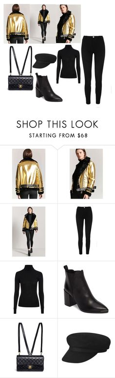 """""""Statement Jacket"""" by cico-193 ❤ liked on Polyvore featuring Forever 21, River Island, Topshop, Tony Bianco and Chanel"""