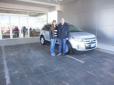 Jake Jakubowski and the rest of us here at Court Street Ford would like to say congratulations to Kendal and Karen Ozment of Bourbonnais on the purchase of their 2013 Ford Edge.  Thank you for your business!