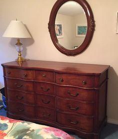Vintage 5 Piece Bedroom Furniture Set National Furniture Company Mt Airy Nc Nationalfurniturecompany