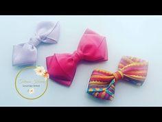 Laço da Juh feito com fita de cetim ou gorgurão by  Tatiana Karina DIY/ Tutorial/Ribbon Bow - YouTube